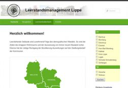 Leerstandsmanagement Lippe